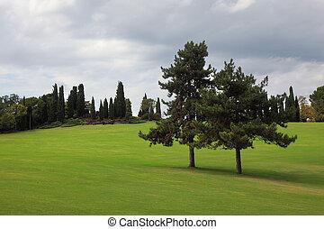 A park-garden Sigurta in Italy.