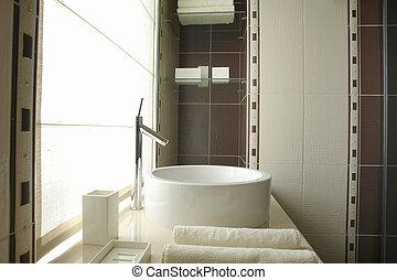 a part of bathroom                 - a part of bathroom