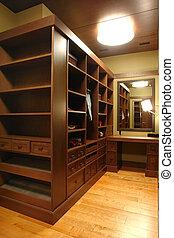 a part of closet