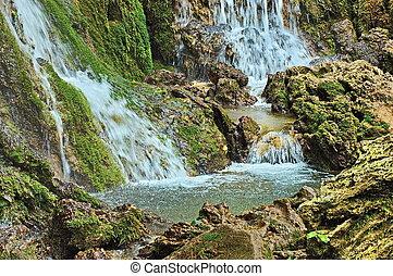 A part of Krushuna waterfalls casca