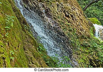 A part of Krushuna waterfalls