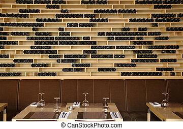 a part of restaurant