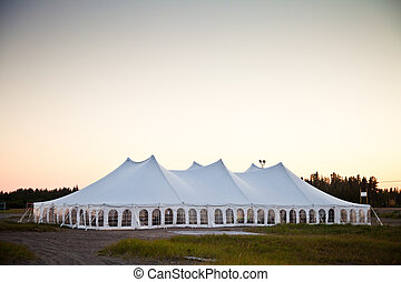 A party or event white tent - Party or event white tent ...