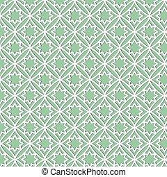 a pattern of white geometric shapes