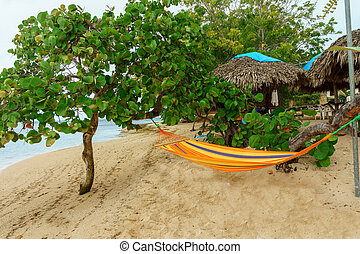 A peaceful place to relax on the beach