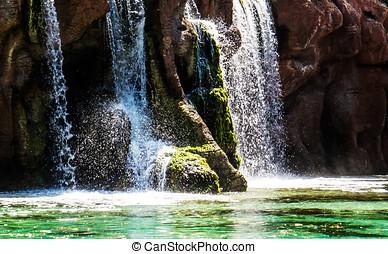 A peaceful Waterfall Stream