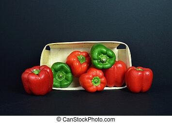 A pepper assortment