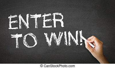 Enter to win Chalk Illustration - A person drawing and ...