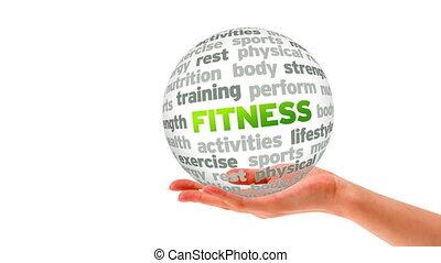 Fitness Word Sphere