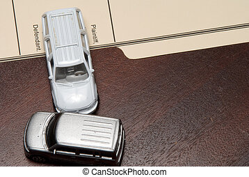 A Personal Injury Law Case with cars.