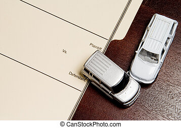 Personal Injury Lawsuit - A Personal Injury Lawsuit folder...