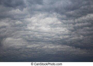 Gloomy sky