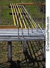 Industrial gas pipelines