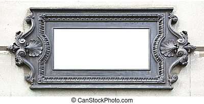 metal plate - A photography of a beautiful old metal plate...