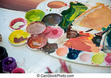 paint palates
