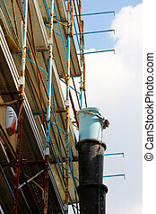 Scaffold - A picture of a Scaffold with pipe