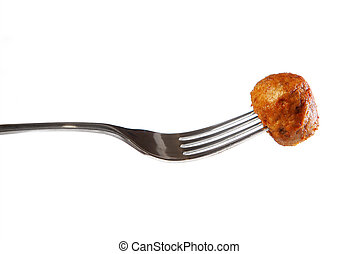Swedish meatball - A picture of traditional Swedish meatball...
