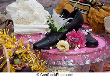 woman business wedding shoes
