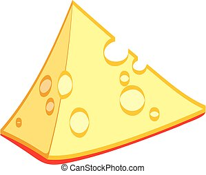 A piece of cheese