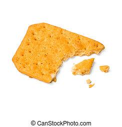 a piece of cracker