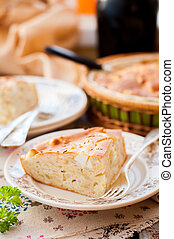 A Piece of Easy Cabbage, Egg and Cumin Pie