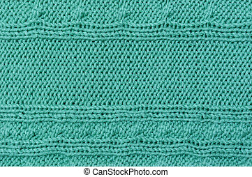 A piece of knitted plaid