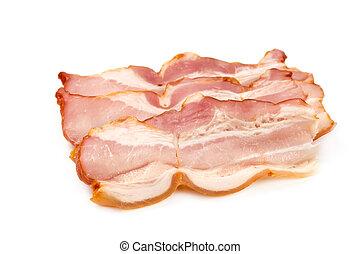 A piece of pork ham