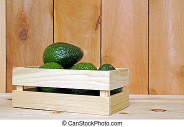 a pile of avocado