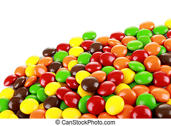 a pile of candies