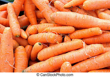 a pile of carrot