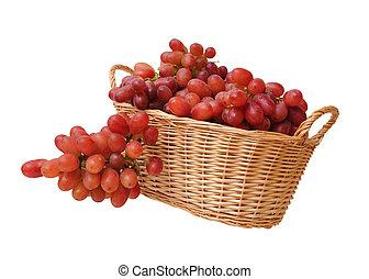 a pile of grape