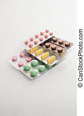pile of medicine