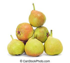 San Juan pears, typical of Spain