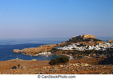 A postcard from Lindos