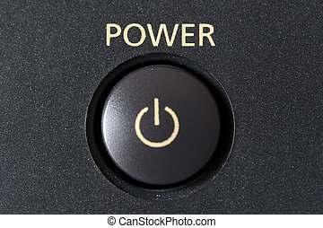 power button - a power button froma n electronic device
