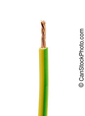 a power cable with plug