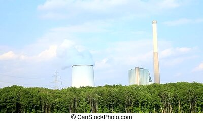 A Power plant with sky - Kraftwerk
