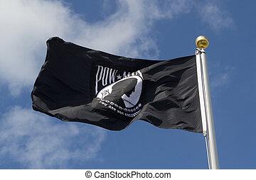 a, pow/mia, bandeira