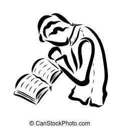 open bible clipart and stock illustrations 3 402 open bible vector