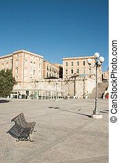 Saturday morning, quiet place in Cagliari