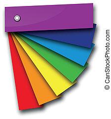 rainbow colour book - a rainbow colour book