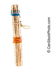 Rainstick - a rainstick, an instrument that is believed to...