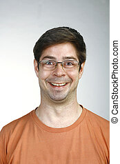 A real funny face captured in high detail - Funny Men Face