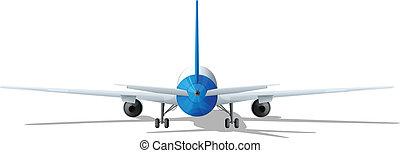 A rear plane