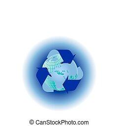 A  recycle environmental vector