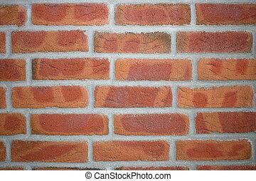 a red brick-wall