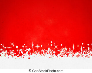 red christmas background - A red christmas background for...