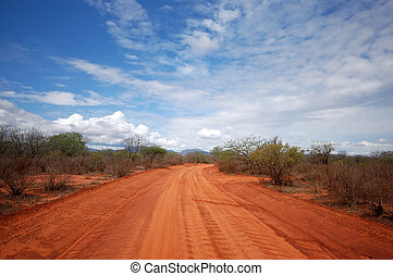 A red Road