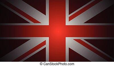 red uk flag