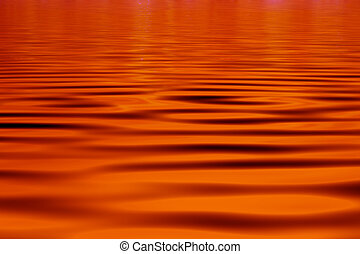 Red water Background